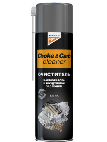 Choke&carb cleaner - Очист.карбюр.и возд.засл. (520ml)⁄20